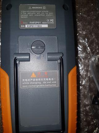 medidor fibra óptica FHP2P01