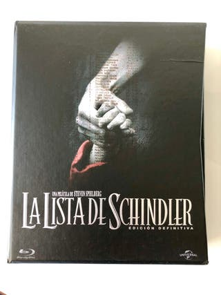 La lista de schindler bluray