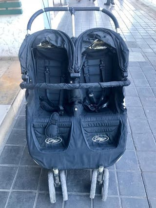 Silla/Carrito paseo Gemelar City Mini, Baby Jogger
