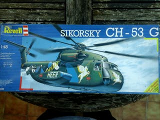 Maqueta Helicoptero SIKORSKY CH - 53 G