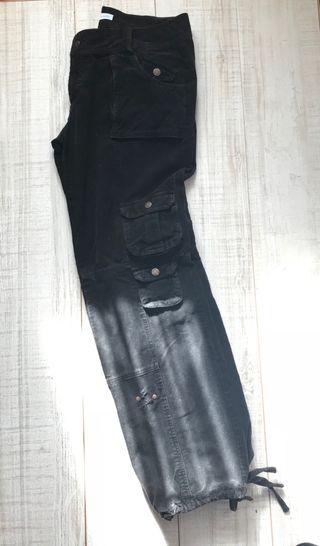 Pantalón negro - Cargo