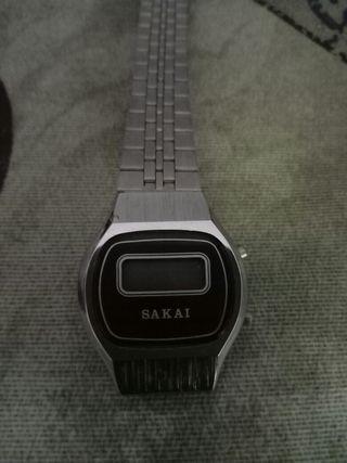 Reloj Sakai digital mini