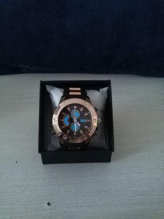 Reloj Doble maquinaria Estilo Maradona sumergible