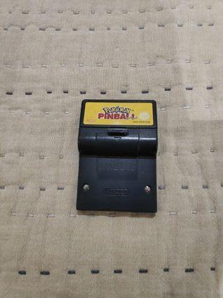 Juego Pinball Pokémon Game Boy