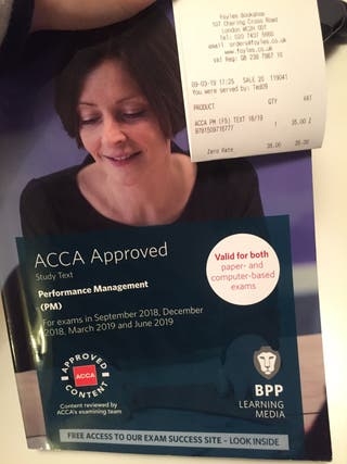 ACCA Approved Performance Management