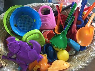 Lote juguetes playa