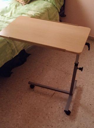 Mesa auxiliar para cama de segunda mano en wallapop - Mesa auxiliar de cama ...