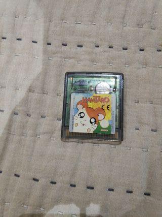 Juego Hamtaro para la Game Boy