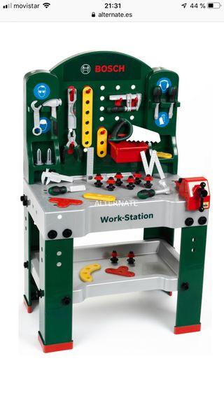 Banco de trabajo Bosch juguete de segunda mano por 25 € en