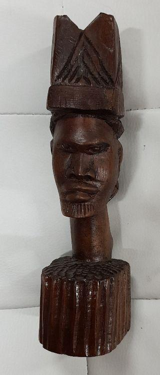 Figura cabeza africana