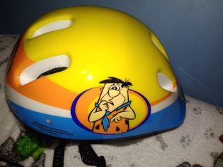 casco picapiedra niño