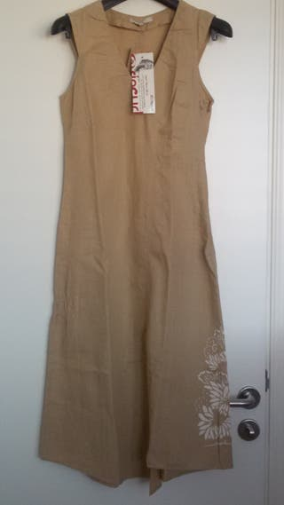 Rip Curl Vestido Traje de lino talla 38