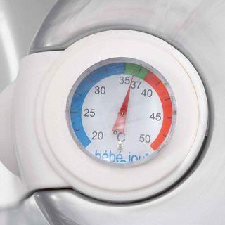 Bañera bebe thermobath de Bebe-jou blanca