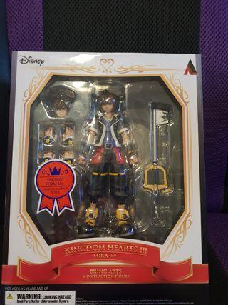 Action figure Kingdom Hearts III Sora Bring Arts