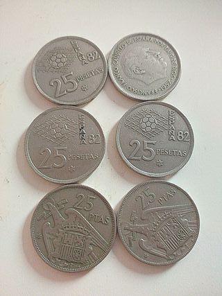 se vende monedas de franco