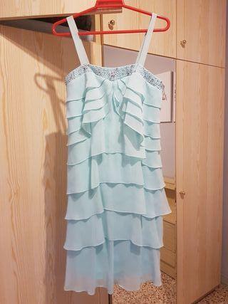 vestido de graduacion talla M