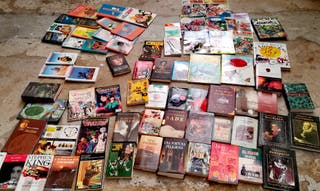 lote de mas de 70libros y comics