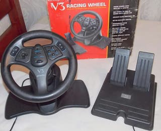 ps3/ps2 steering wheel bundle