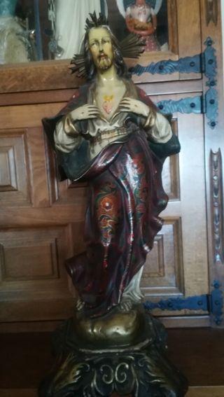 Antigua imagen religiosa