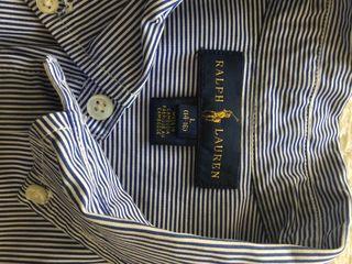 Marca: Polo Ralph Lauren camisa niño, talla 16.