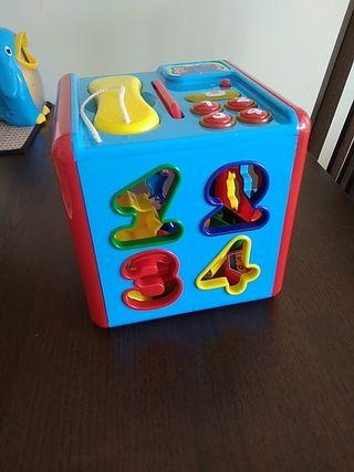 juguete bebé encajable