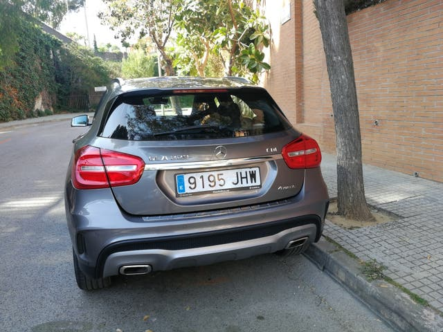 Mercedes-Benz GLA 2015