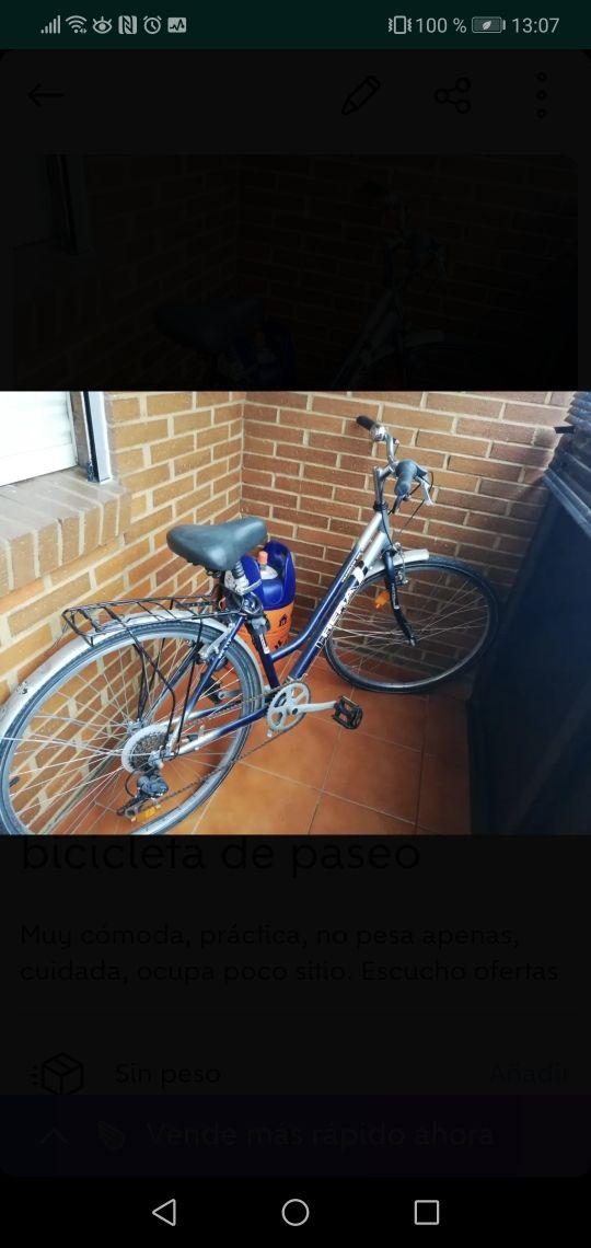 bicicleta en buen buen estado
