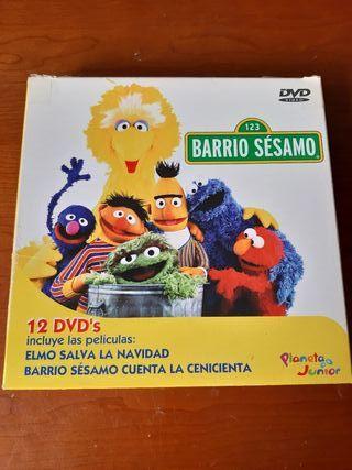 Colección DVD Barrio Sesamo