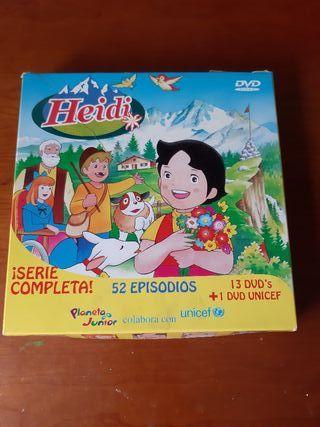 Colección en DVD Heidi