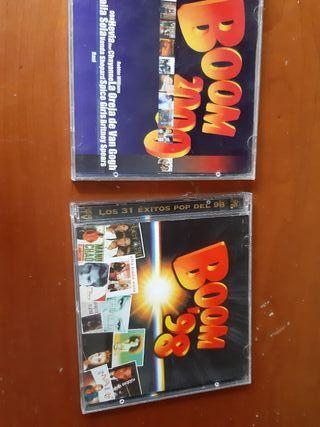 Vendo Recopilatorios BOOM 98 Y BOOM 2000