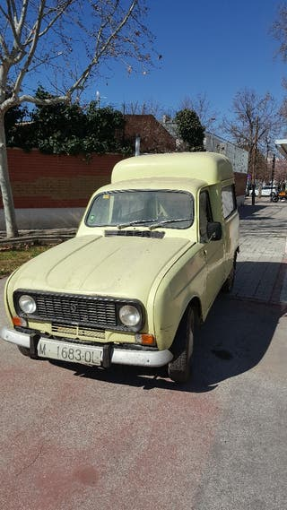 Renault R4 furgoneta 1979