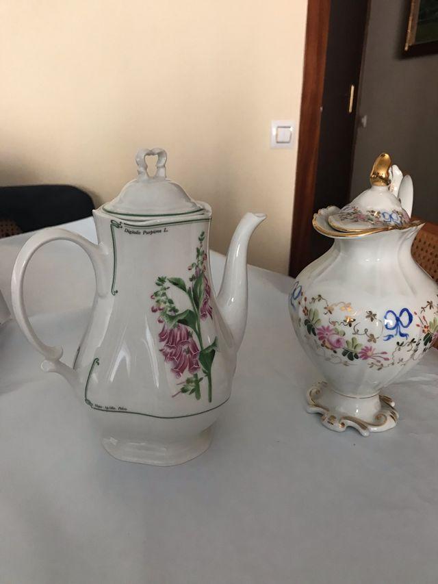 Cafeteras porcelana antiguas
