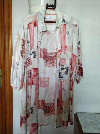 Camisa Rosa Crazy Vintage