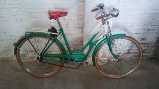 bicicleta freno de varillas Antigua