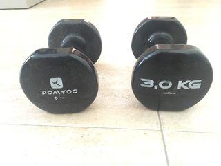 Mancuernas 3 kgs