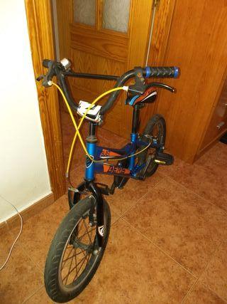 bicicleta de infantil