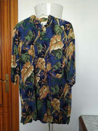 Camisa Hawaiana Flamigos Vintage