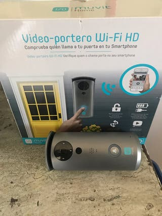Vídeo-portero WIFI HD Muvit