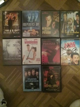 Reproductor Dvd Hitachi. Lote 10 películas.