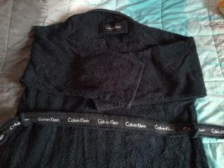 Albornoz negro Calvin Klein
