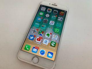 iPhone 6 128GB plata, con batería nueva