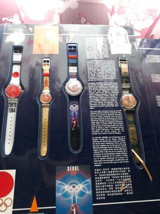 Por Antiguos De Mano Relojes Coleccion Olimpiadas 250 Swatch Segunda 67ymIgbvYf