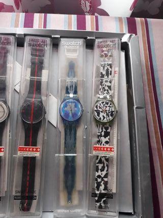 colección relojes antiguos swatch