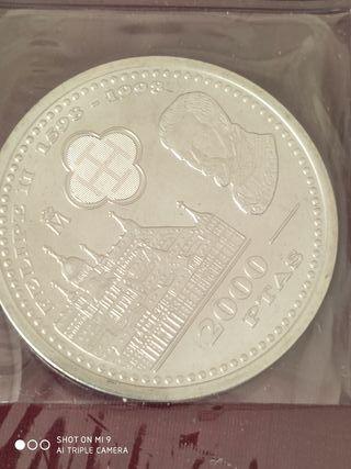 monedas de 2000 plata
