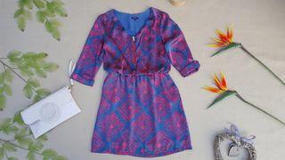 vestido Elogy azul petroleo TALLA M
