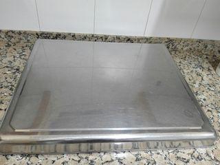 Tapa de acero inoxidable de encimera de cocina