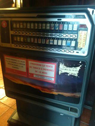 máquinas expendedoras de tabaco
