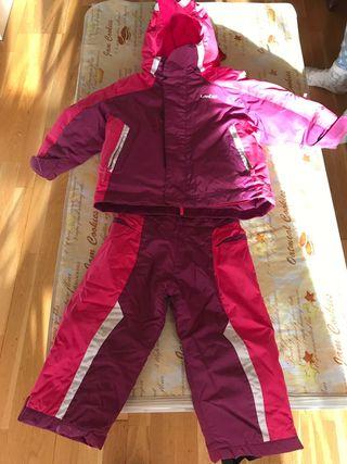 traje de esqui. talla 3.