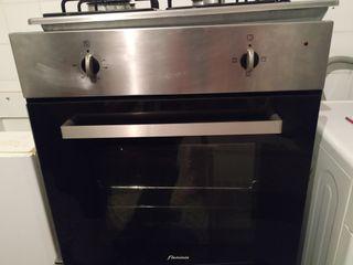 horno y placa de cocina
