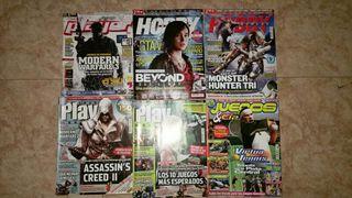 Lote 6 Revistas Videojuegos antiguas